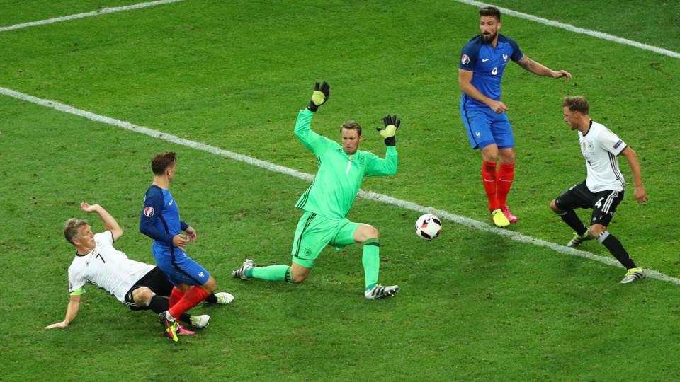 Deutschland Gegen Frankreich Em