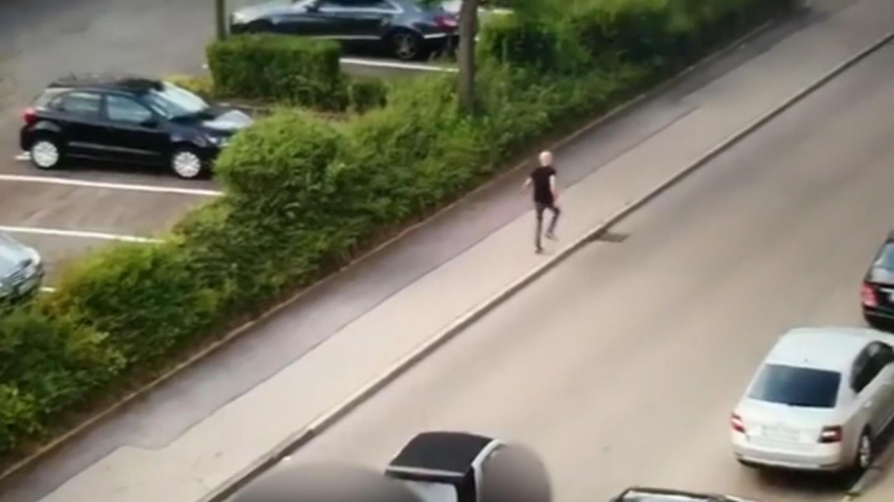 Stuttgart Schwertattacke