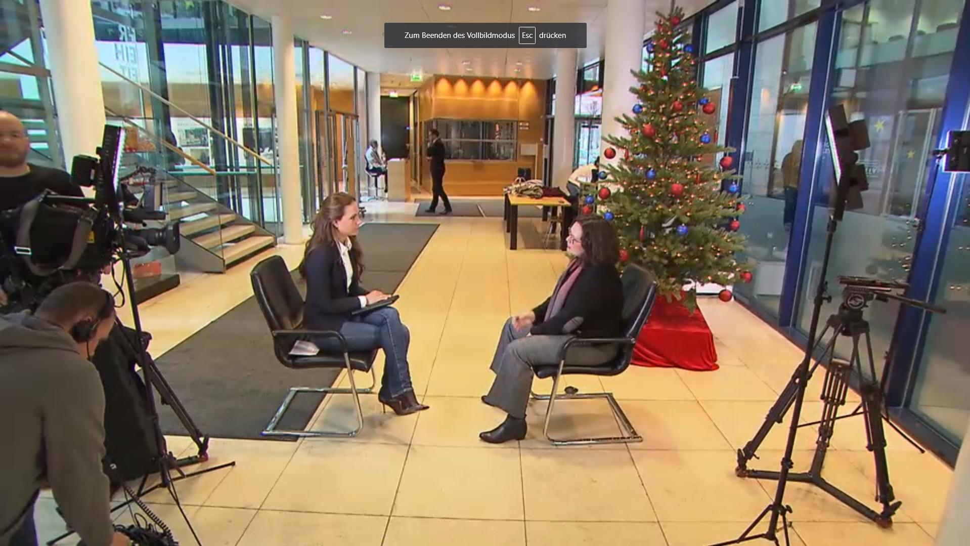 Rtl Weihnachten 2019.Spd Chefin Andrea Nahles Ganz Privat Im Rtl Interview So Feiert Sie