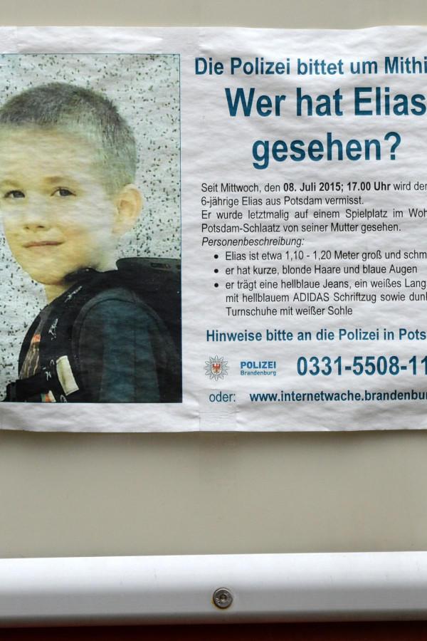 Potsdam Elias 6 Vermisst Polizei Sucht Mit Großaufgebot