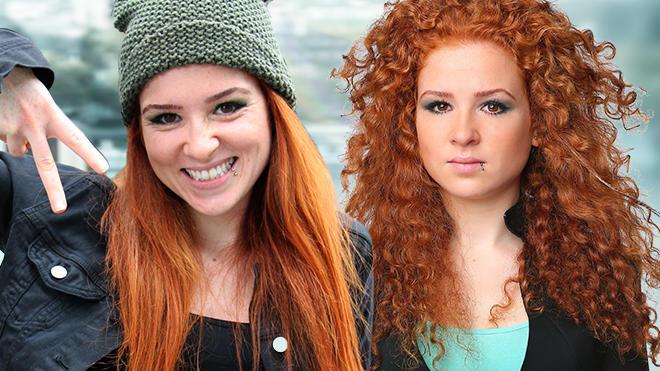 Unter Uns Star Sarah Hannemann überrascht Mit Glatten Haaren