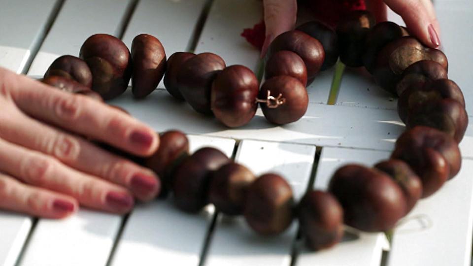 Basteln Für Den Herbst Tolle Ideen Mit Kastanien Und Eicheln