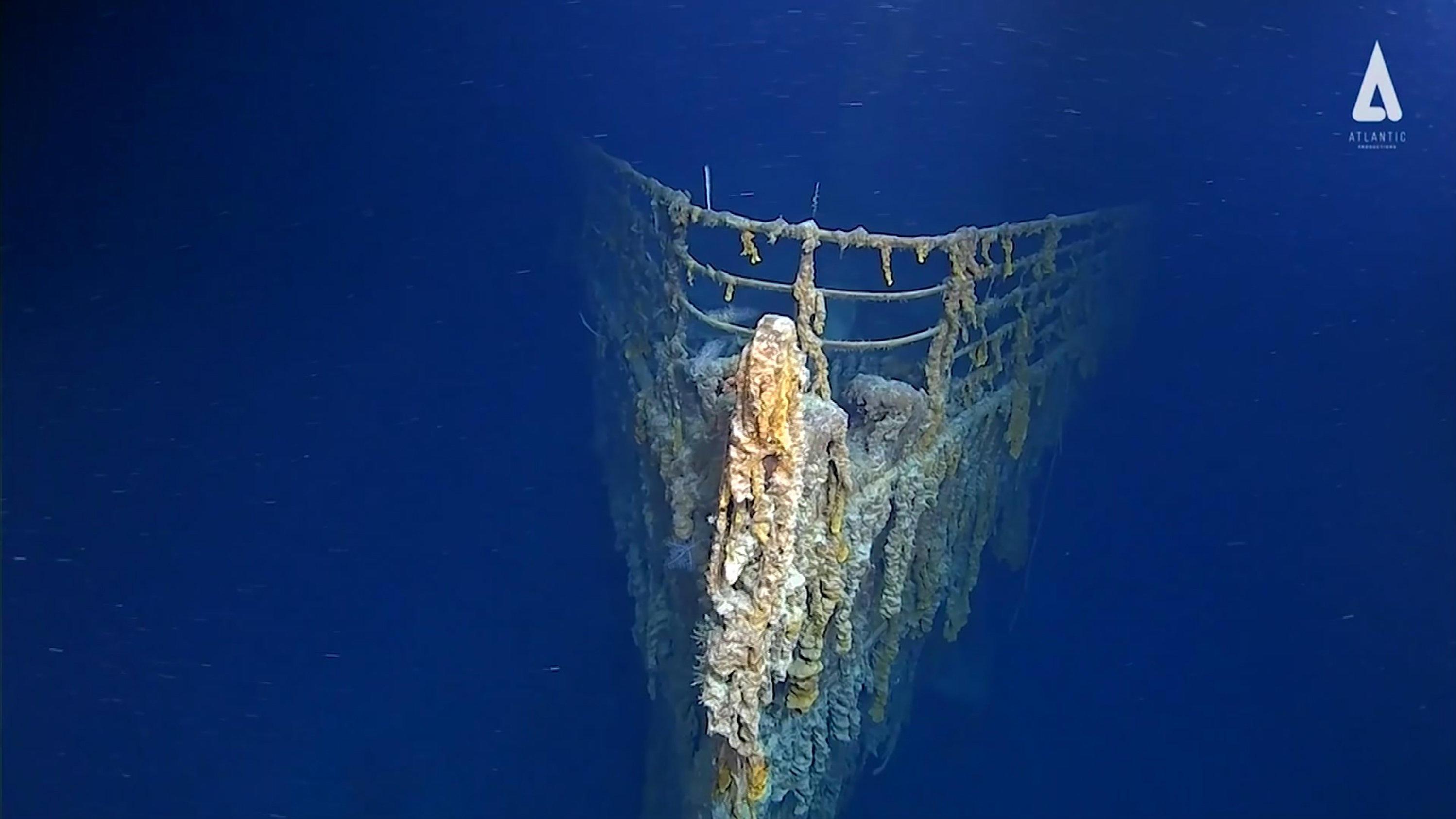 Titanic Bilder Wrack