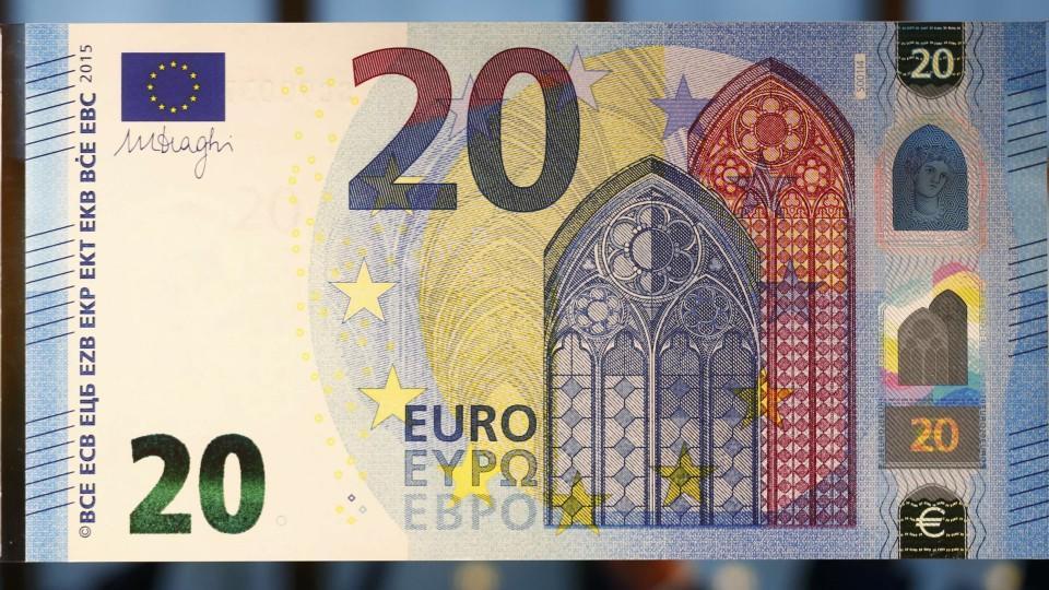 Fünfzig Euro Schein Neu