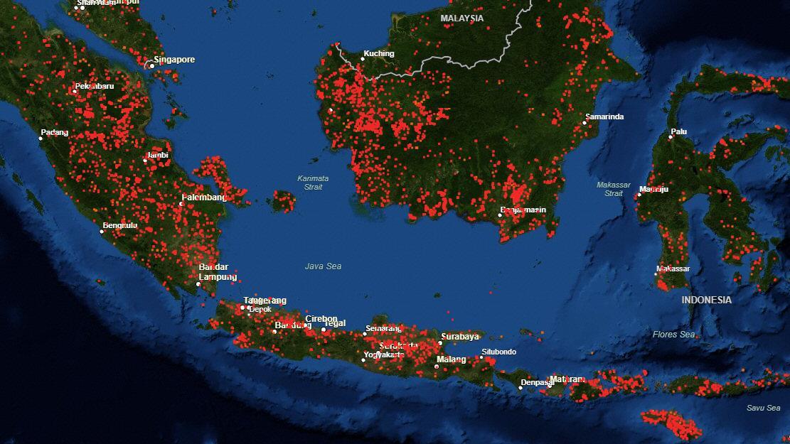 Waldbrände Alaska Karte.Vom Amazonas Bis Nach Alaska Karte Der Nasa Zeigt Wo Die Welt