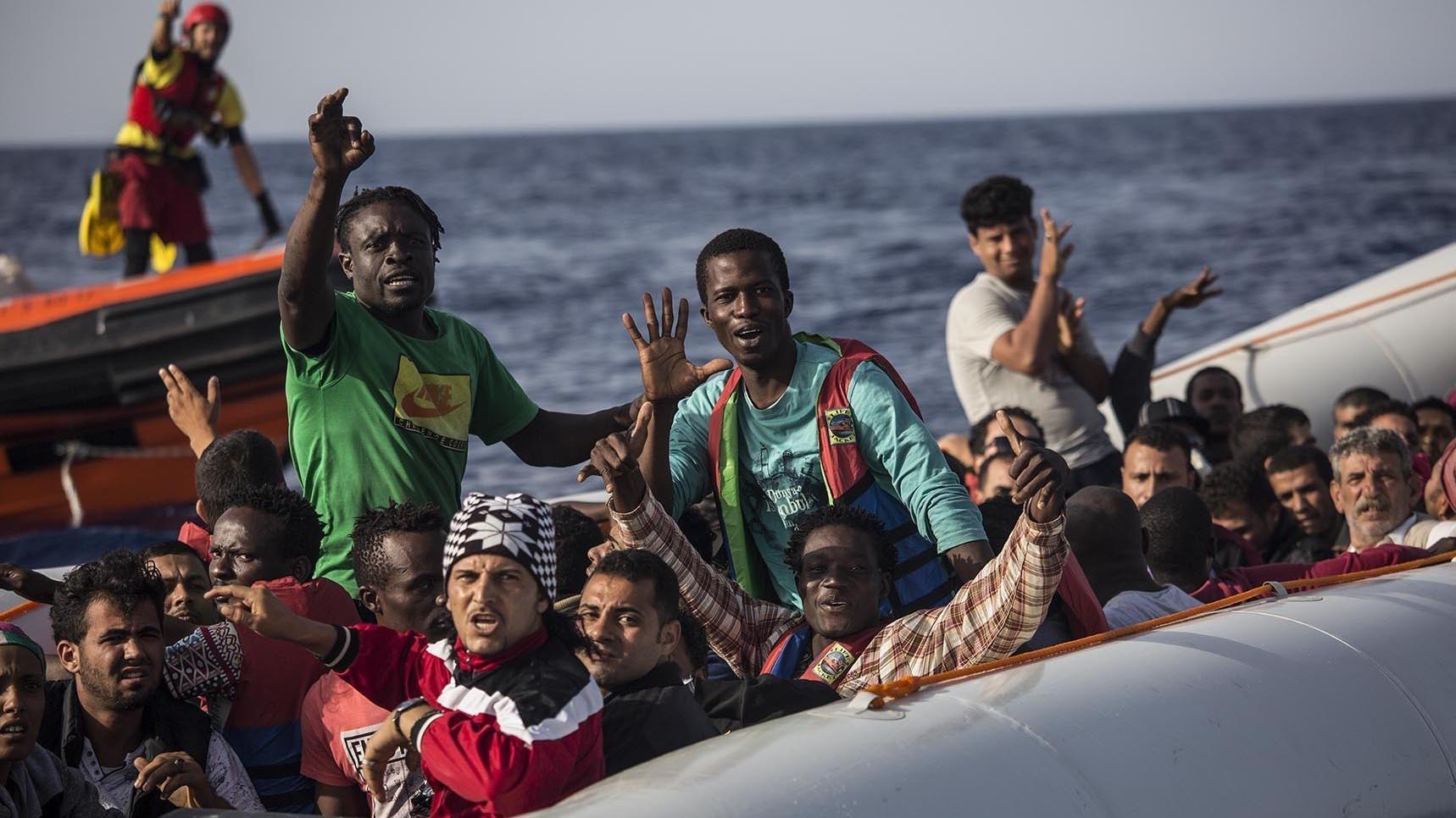 Flüchtlinge Spanien