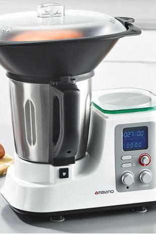 Aldi-Thermomix-Klon \'Ambiano\': Küchenmaschine mit ...