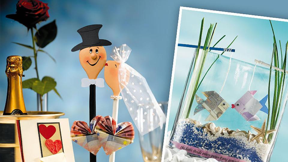 Geldgeschenk Verpacken Kreative Geschenkidee Zur Hochzeit