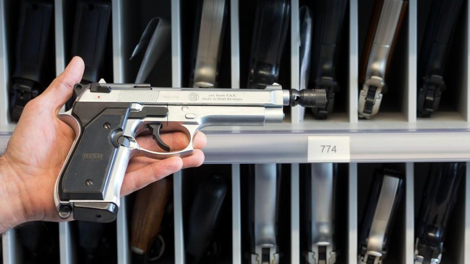 Kleiner Waffenschein Welche Waffen