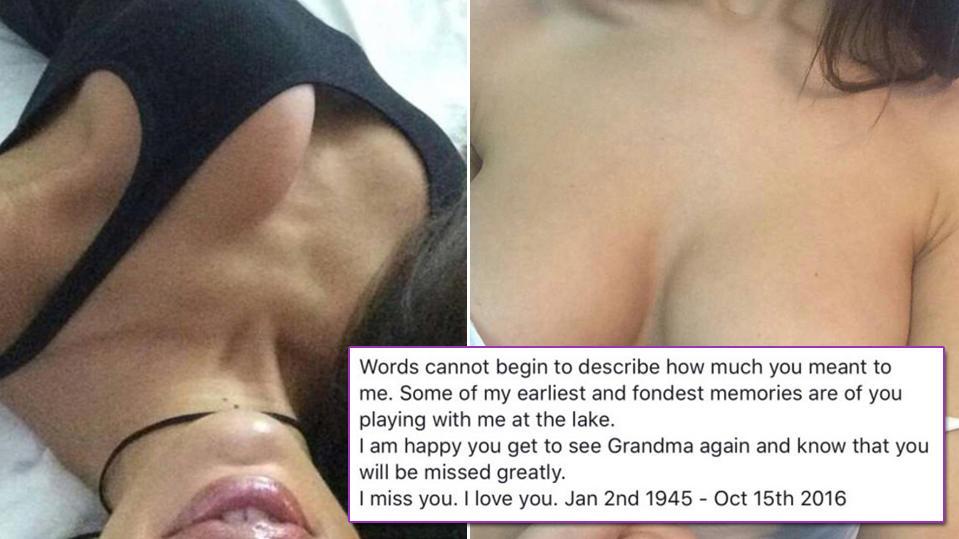 Frau trauert auf Facebook um toten Opa und postet