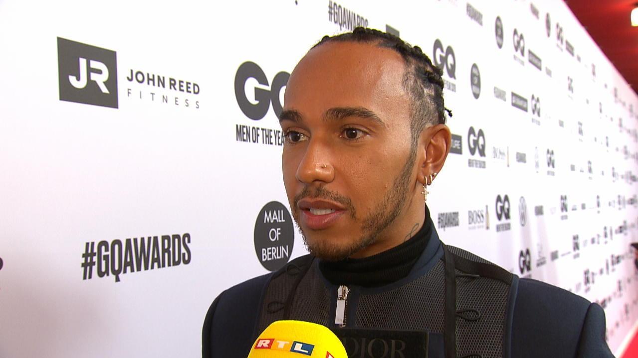 """Formel-1-Weltmeister Lewis Hamilton zum GQ """"Man of the Year"""" gekürt - RTL Online"""