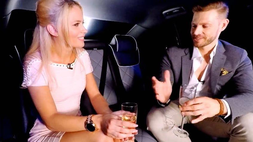 Take Me Out 2018 Bei Polina Und Alex Knistert Es Beim Date In Der Limousine