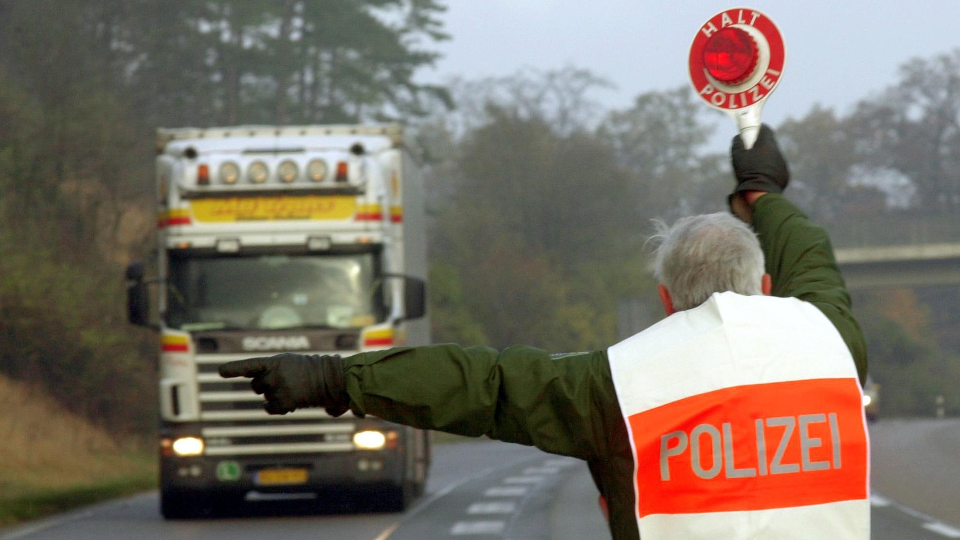 Polizeikontrollen Hessen