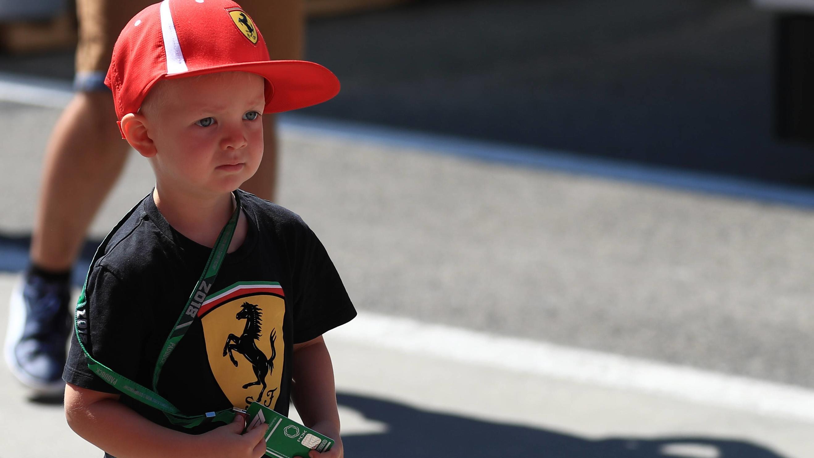 Kimi Räikkönen Sohn