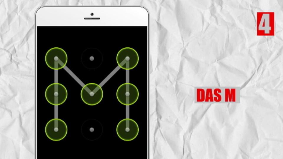 Wischcodes Fürs Smartphone Diese 10 Handy Entsperrmuster Sind Unsicher