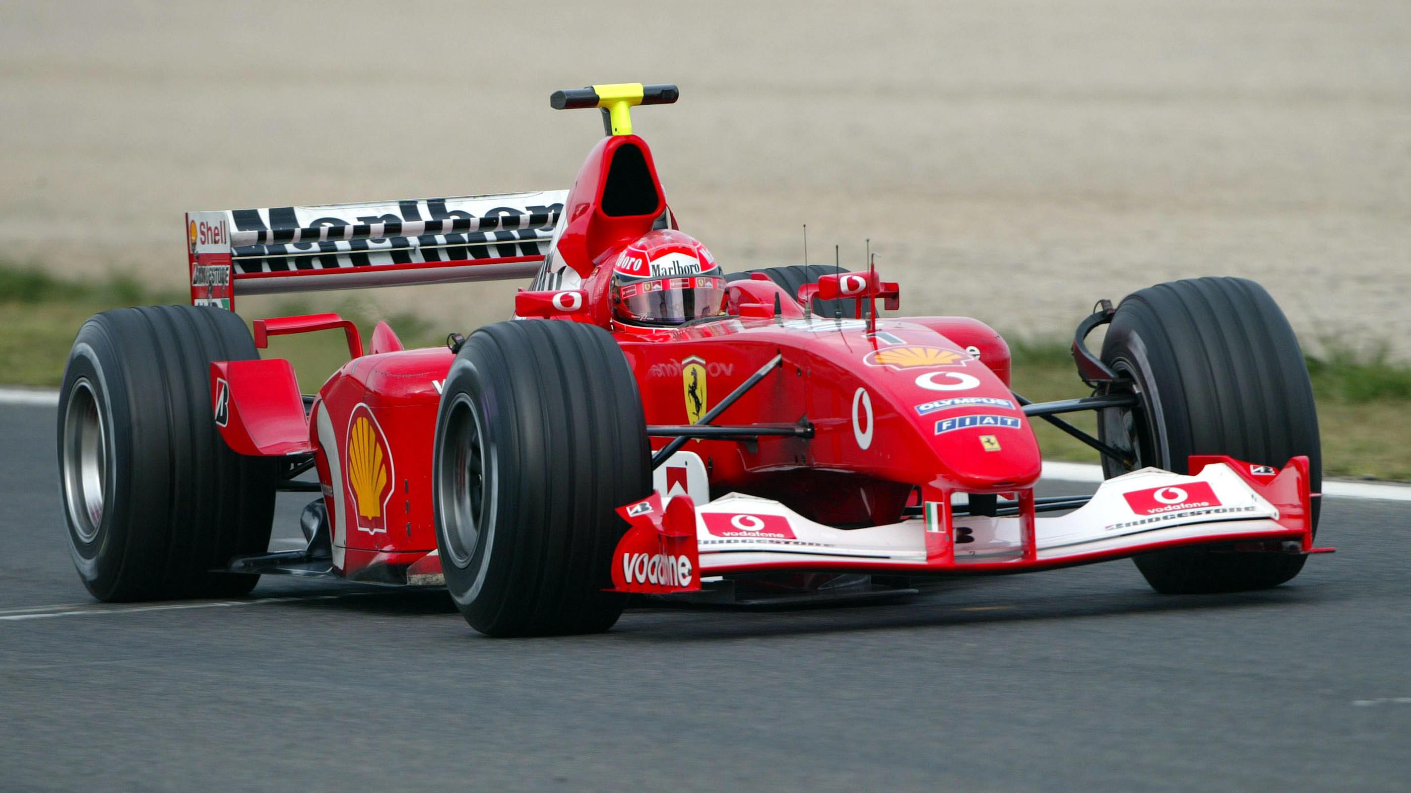 Ferrari 2002 von Michael Schumacher kommt unter den Hammer