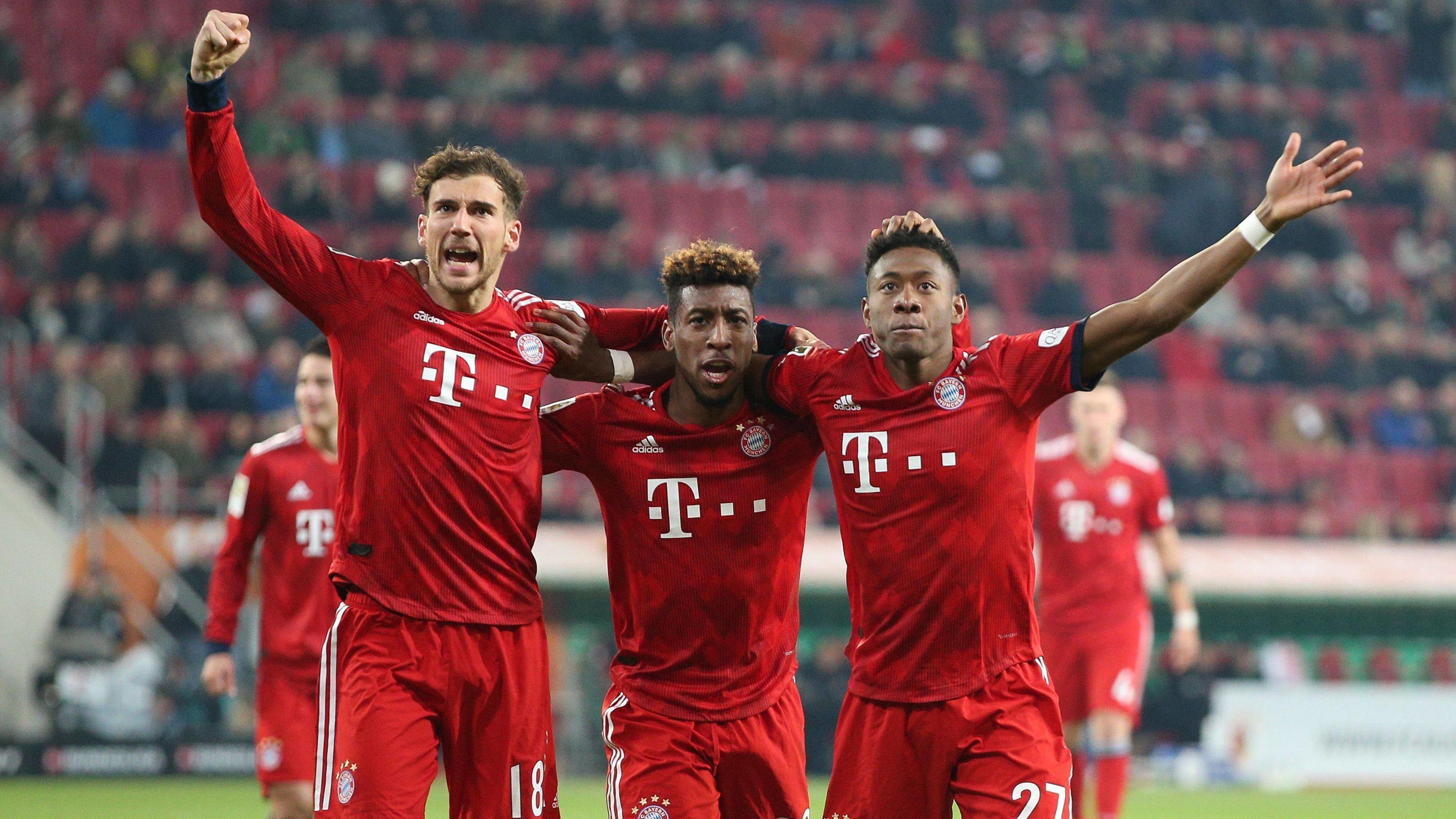 Bayern Augsburg 2:1