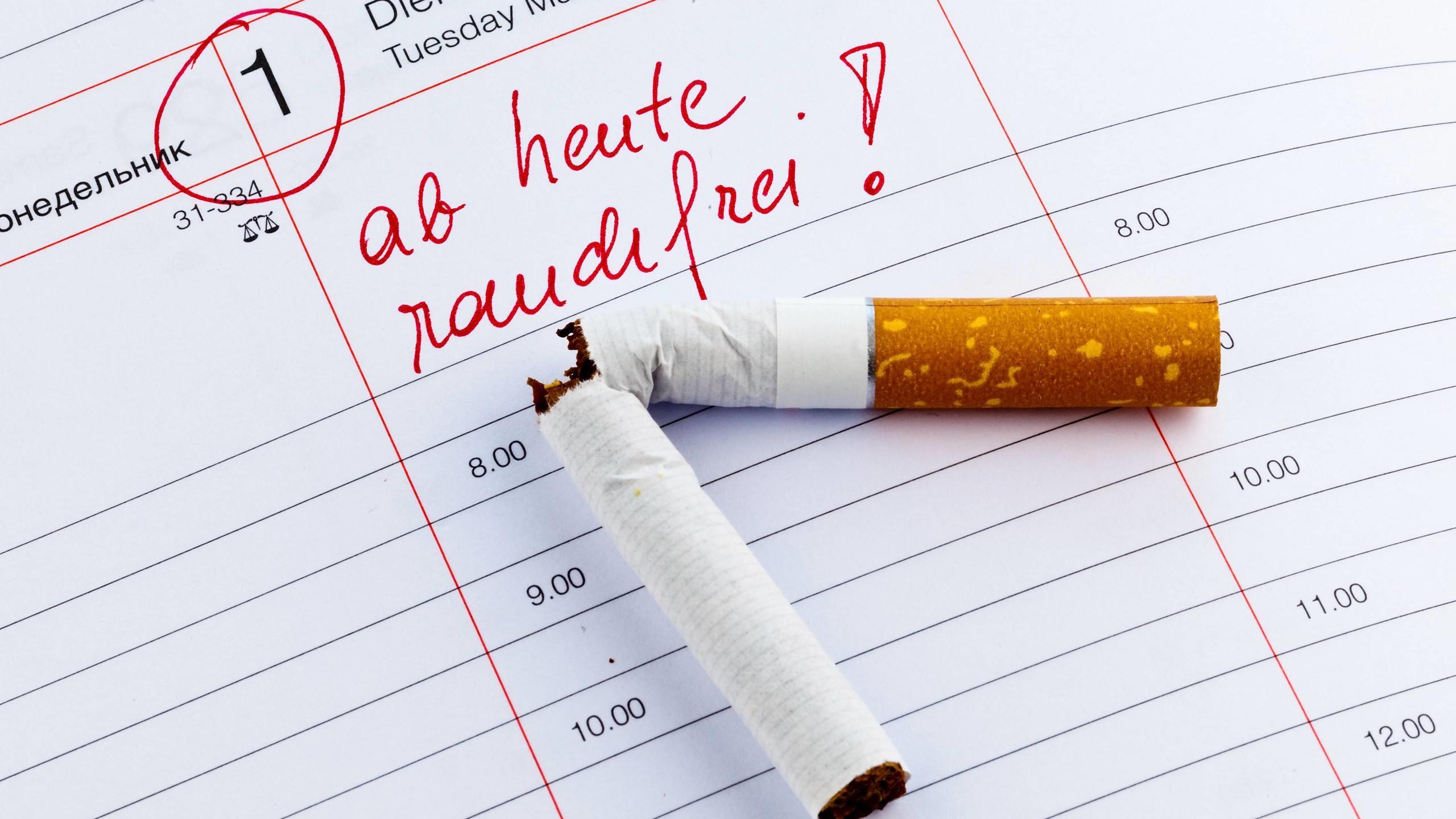 10 effektive Tipps, um mit dem Rauchen aufzuhören