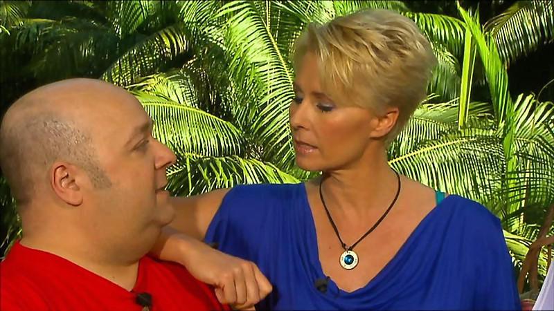 Dschungelcamp 2012 Sonja Zietlow Und Dirk Bach Laufen Sich Warm