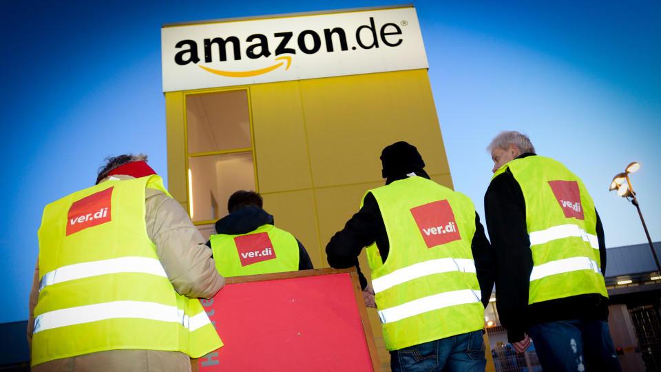 Streik Amazon Leipzig