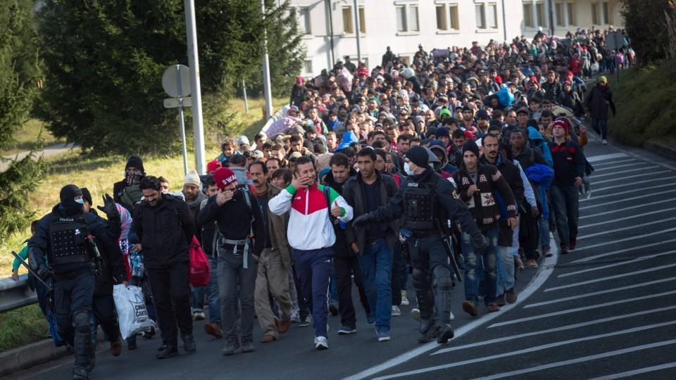 Flüchtlingsstrom Nach Europa