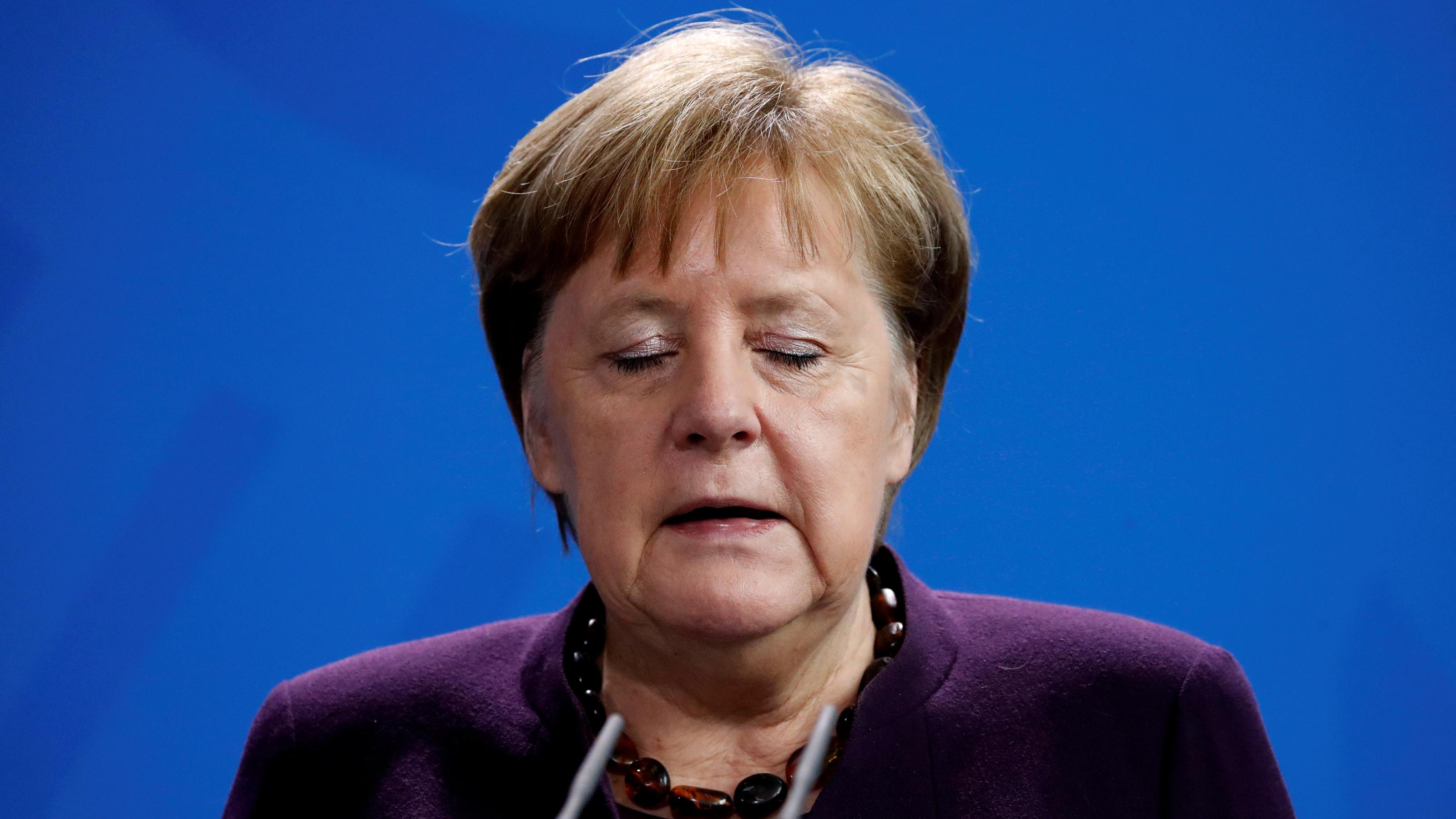 """Merkel: """"Überaus trauriger Tag für unser Land"""" - Fassungslosigkeit und Entsetzen nach Morden von Hanau"""