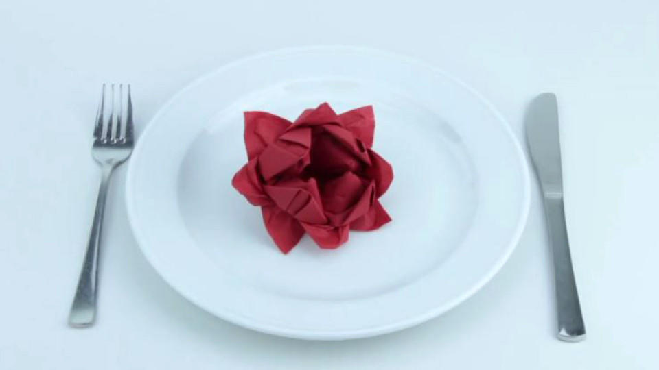 rosen servietten falten
