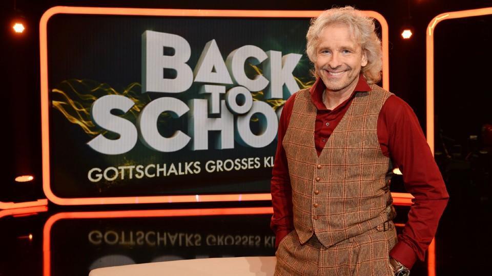 Back To School Gottschalks Großes Klassentreffen Startet Wieder Am