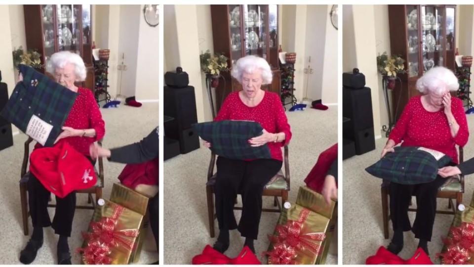 Sie Bricht In Tränen Aus Enkelin Macht Oma Das Schönste Geschenk